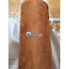 Алькантара коричневая