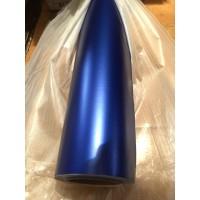 Матовый хром синий